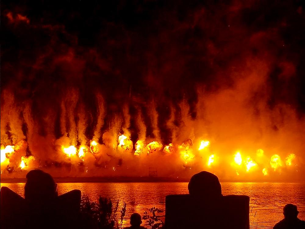 Fireball, Big Bang Boom - Norfolk, NE