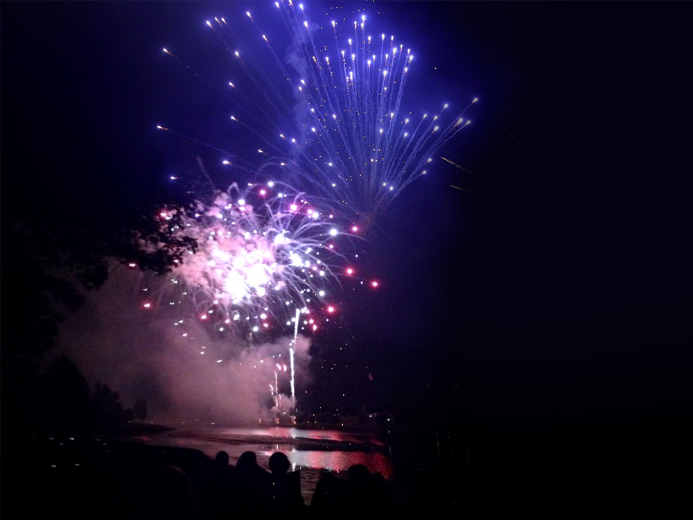 Big Bang Boom annual fireworks display in Norfolk, Nebraska