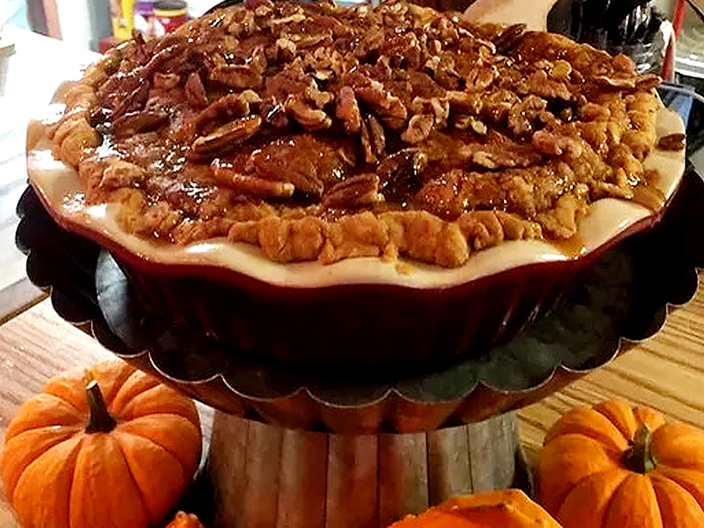 Pumpkin patch cafe pie