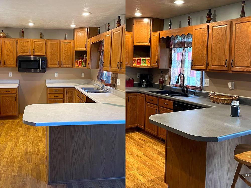 NuLook Resurfacing Kitchen Resurfacing Project - Norfolk, NE