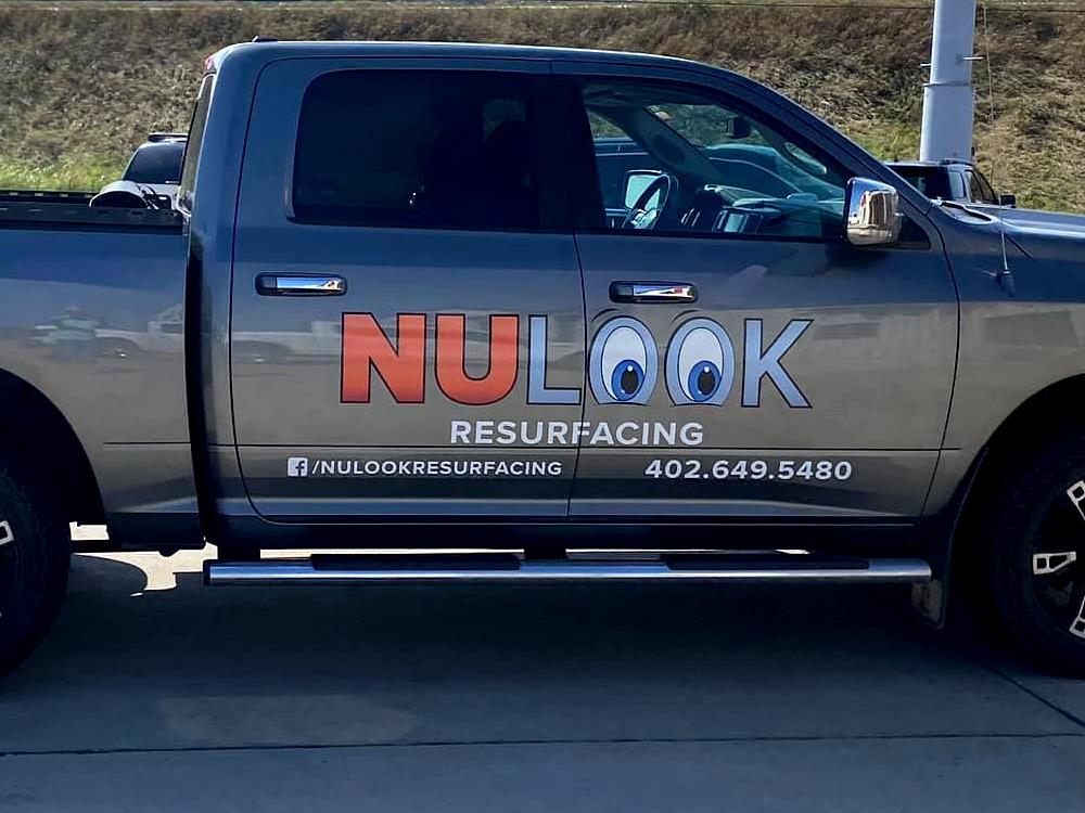 NuLook Resurfacing truck in Norfolk, NE