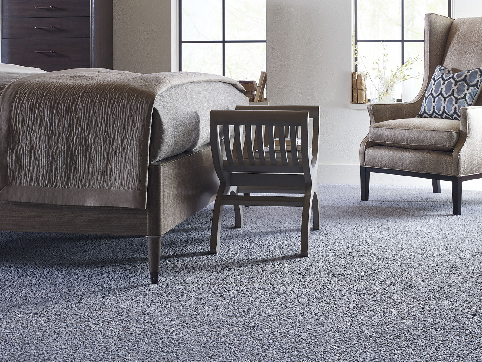 Scranton Flooring and Supply Blue Karastan Carpet