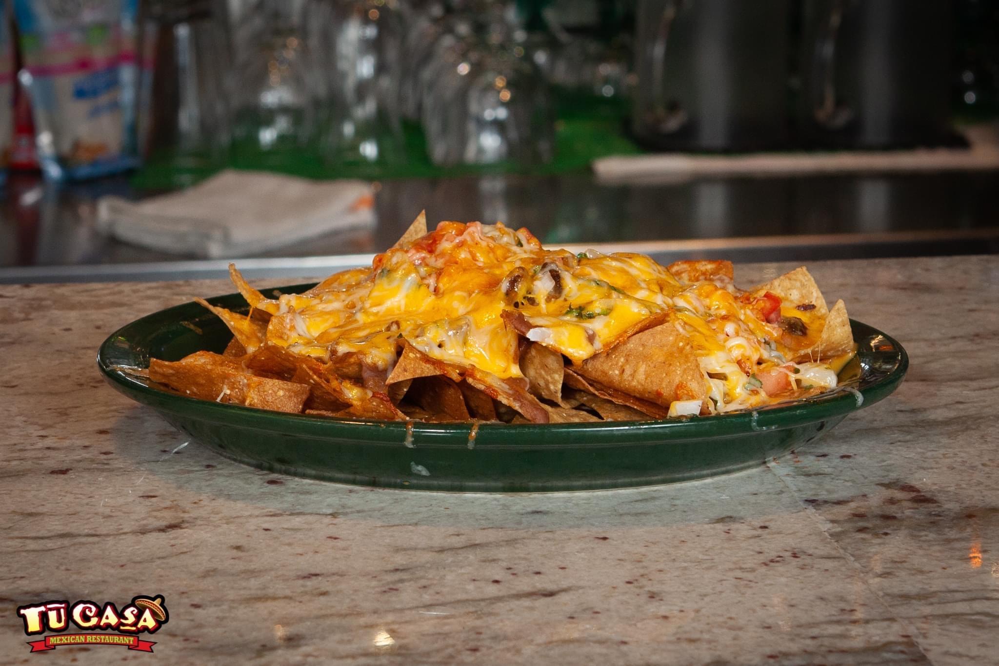 Tu Casa Mexican Restaurant Nacho Specials