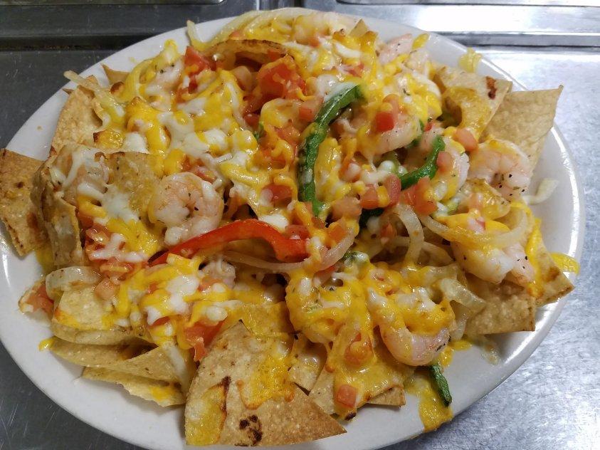 Tu Casa Mexican Restaurant Shrimp Nachos