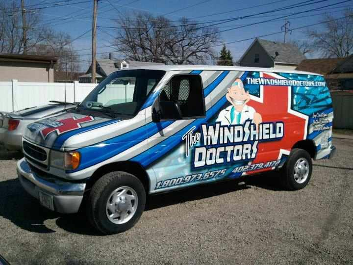 The Windshield Doctors Windshield Doctors - Van ready to go on a job to replace a windshield