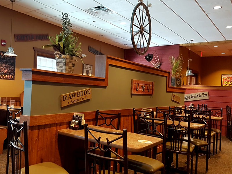 Pizza Ranch Spacious seating for large or small groups